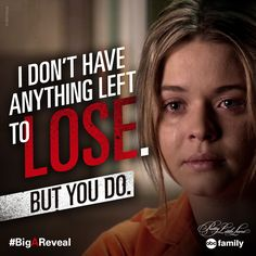 Alison finally tells the truth!   Pretty Little Liars Quotes