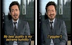 Oh Robert Downey Jr..