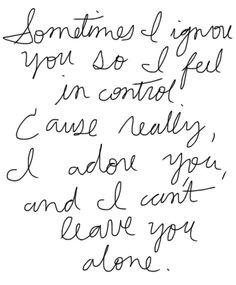 feeling in control