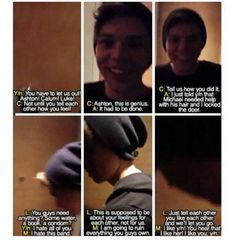 Michael imagine ~ This one makes me laugh, omfg Luke