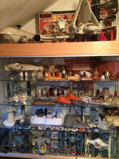 My brothers Star War collection