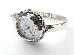 Silver Watch Silver bracelet and tape trial 925 Weight Bracelet size