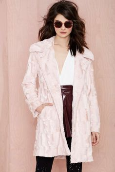 Nasty Gal Candy Girl Faux Fur Coat | Shop What's New at Nasty Gal
