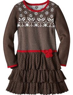 Knitting In Swedish Sweater Dress from Hanna Andersson- For Vanna