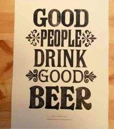 Good People, Good Beer.