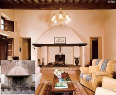 Rustic Living Room and Marta and Oscar Fisch in Val di Chiana, Italy Villas, Tuscan Style, Toscana, Maine House, Architectural Digest, Home Decor Inspiration, Interior And Exterior, Family Room, Farmhouse