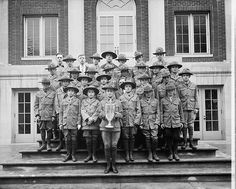 Boy Scouts of America were established in 1910