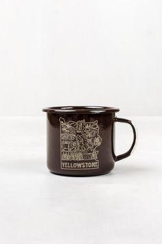 Yellowstone Enamel Steel Mug | United By Blue