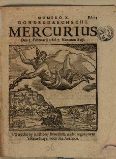 Numero X. Donderdaechsche Mercurius den 3 februarij 1667 Nieuwen Stijl