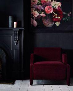 Картинки по запросу бордовый цвет в интерьере