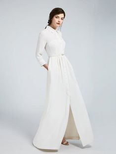 Explore the Wedding Dresses in the Max Mara Bridal Collection Choose Italian Fashion, Choose the Perfect Dress for your Big Day. Off Shoulder Wedding Dress, Wedding Dress With Pockets, Luxury Wedding Dress, Wedding Dress Trends, White Fashion, Unique Fashion, Romantic Fashion, Ze Garcia, Skirt Fashion