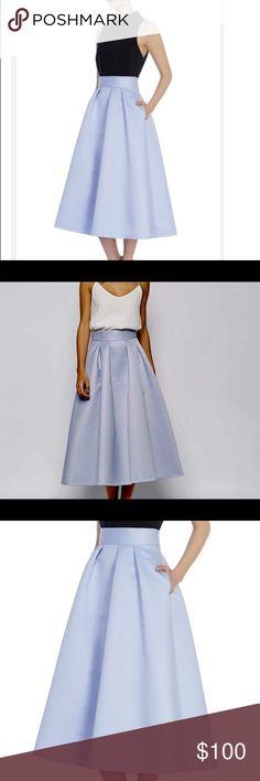 100% Silk Full Skirt by Coast Coast 100% Silk Full Skirt! Absolutely stunning on! Purchased from Asos. Worn twice. ASOS Skirts Maxi