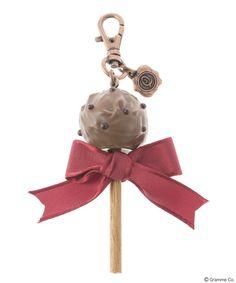 Lollipop Ribbon Chocolat Bag Charm(DBRW)