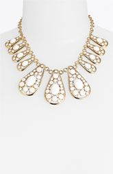 kate spade new york 'paisley park' frontal necklace
