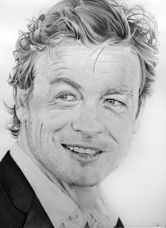 Simon Baker definitely art at its finest!!
