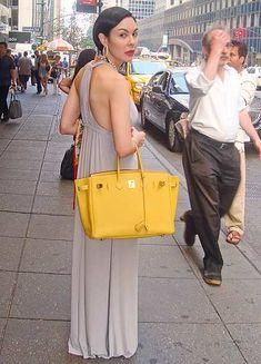 I would give up having a shoulder strap for a Birkin bag