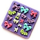 One Hole Flower Silicone Mold Fondant Molds Sugar Craft Tools Resin flowers Mould For Cakes - USD $ 2.99