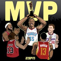 e8a60dcfcf49 ESPN It s official  Kevin Durant has won the NBA MVP Award for the first  time.