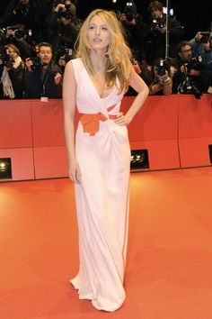 Blake Lively At the Berlin Film Festival premiere of The Private Lives of Pippa Lee, 2009.  Photo: 2009 AFP