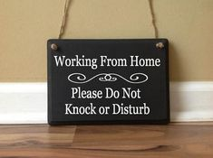This item is unavailable Working from home Please Do Not Knock or Disturb No Soliciting Do Not Knock Front Door work from home sign primitive wood custom sign Work From Home Moms, Make Money From Home, How To Make Money, Front Door Signs, Front Door Decor, Make Money Writing, Make Money Blogging, Money Tips, Funny No Soliciting Sign