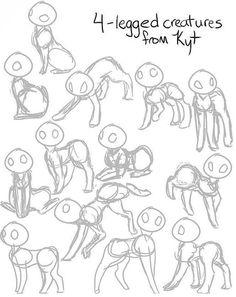 Image result for slanted posture art tutorial