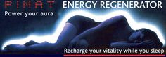 Power your aura - Recharge your vitality while you sleep