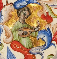 Lute Player - MS. 34, F. 172A