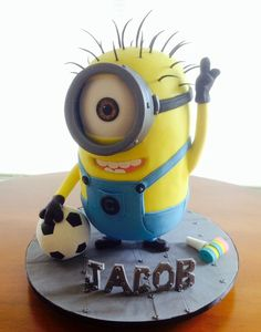 Image result for golfer minion cake Minion Cakes Cupcakes