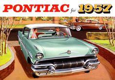 Plan59 :: Classic Car Art :: Vintage Ads :: 1957 Pontiac Laurentian