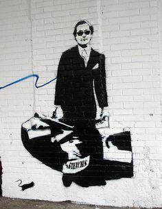 Blek le Rat, NYC. #bleklerat http://www.widewalls.ch/artist/blek-le-rat/