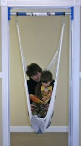 Rainy Day Doorway Swing Bar--for a hammock, swing, trapeze bar, and more. Awesome!!!