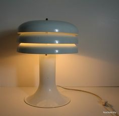 Scandanavian Mid Century Lamp by Hans Agne Jakobsson by Nachokitty