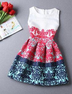 Top 5 Beautiful Printed Cotton Short Dress