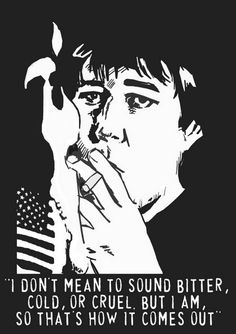 Good old Bill Hicks... RIP.