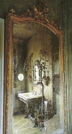 """specchio dove si vede Tutto """"OCULATIS ABIS"""""""
