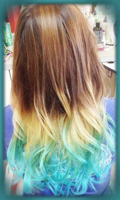 mermaid hair for summer!