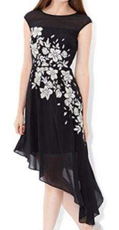 8816ad2bad0 MONSOON Fleur Asymmetrical Hem Dress Size UK 18 BNWT  fashion  clothing   shoes