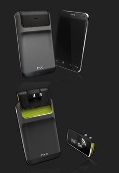 Now that's some MOBILE phone concept... #HTC #Android