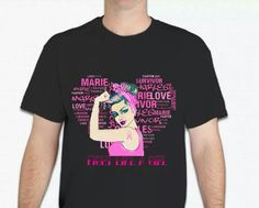 """Charles Marie presents... """"Fight Like  A Girl"""" T-Shirt Pre order sales start today!!! $26 ($5.95 shipping within US)  Please email cstylez@charlesmariehd.com for order form and paypal invoice.  Proceeds go to Susan G Komen foundation! #fightlikeagirl #breastcancer #cancerawareness #pinkribbon #cause #breastcancerawareness #tshirt #black #hairstylist #fight #survive #boobs #iloveboobs #hairstylistnj #hairstylistny #goodcause #charlesmarie #women #men"""