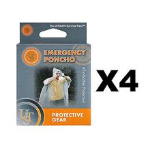 #Ultimate survival #technologies emergency poncho clear #ultralight jacket (4-pac,  View more on the LINK: http://www.zeppy.io/product/gb/2/132057797065/