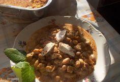 Babos sertéstokány Chana Masala, Oatmeal, Recipies, Pork, Cooking Recipes, Dishes, Breakfast, Ethnic Recipes, The Oatmeal