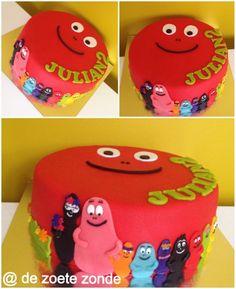 Barbapapa cake