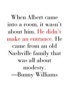 Remembering Albert Hadley.