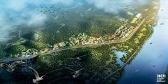 China bouwt 's werelds eerste bosstad.   Daarnaast moet Liuzhou Forest City een rijk dierenleven krijgen en bijdragen aan de plaatselijke biodiversiteit.