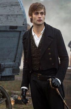 "Douglas Booth as Charles Bingley in ""Pride & Prejudice & Zombies"""