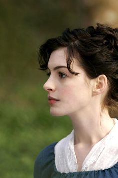 Anne Hathaway as Jane Austen - in Becoming Jane