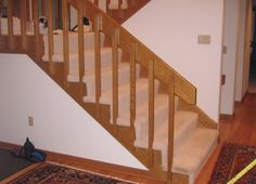 Best 80S Banister And Entryway Update Banisters Banister 400 x 300