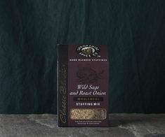 Who doesn't love sage and onion stuffing? This stuffing mix from the Shropshire Spice co features aromatic and warm herb notes with fresh cooked wholemeal breadcrumbs. Sage And Onion Stuffing, Stuffing Mix, Cross Your Fingers, Roasted Onions, Spices, Herbs, Notes, Warm, Fresh