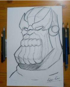 Thanos Drawing
