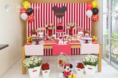 mesa de festa da minnie - Pesquisa Google